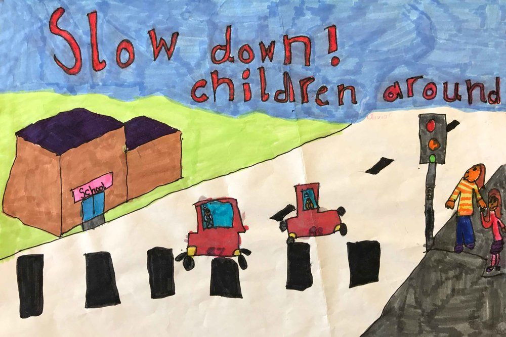 RUNNER-UP: Olivia Cairns, P2, Bridge of Allan PS, Stirling