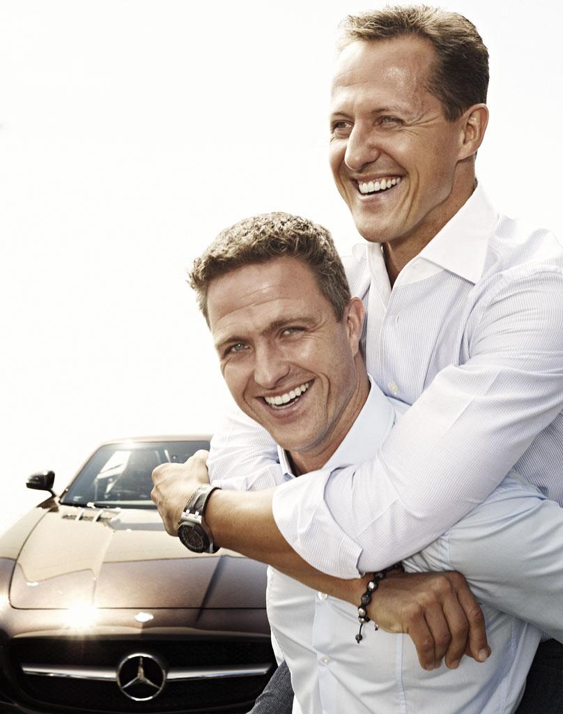 Michael und Ralf Schumacher