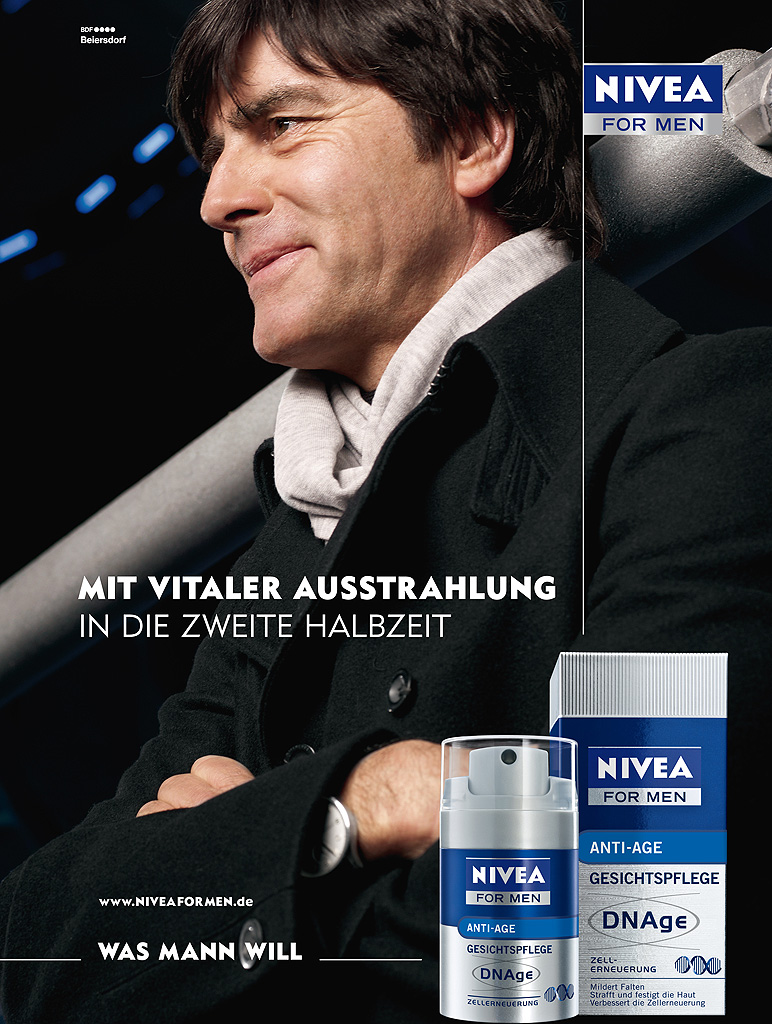 Jogi Löw / Nivea for Men