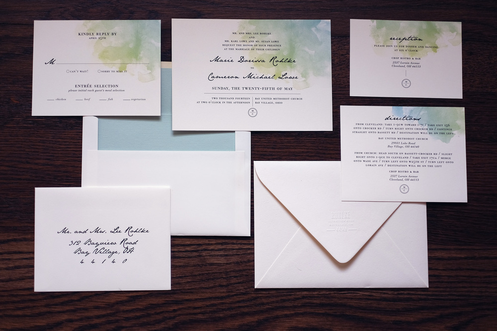 Cameron + Marie Invitation Suite