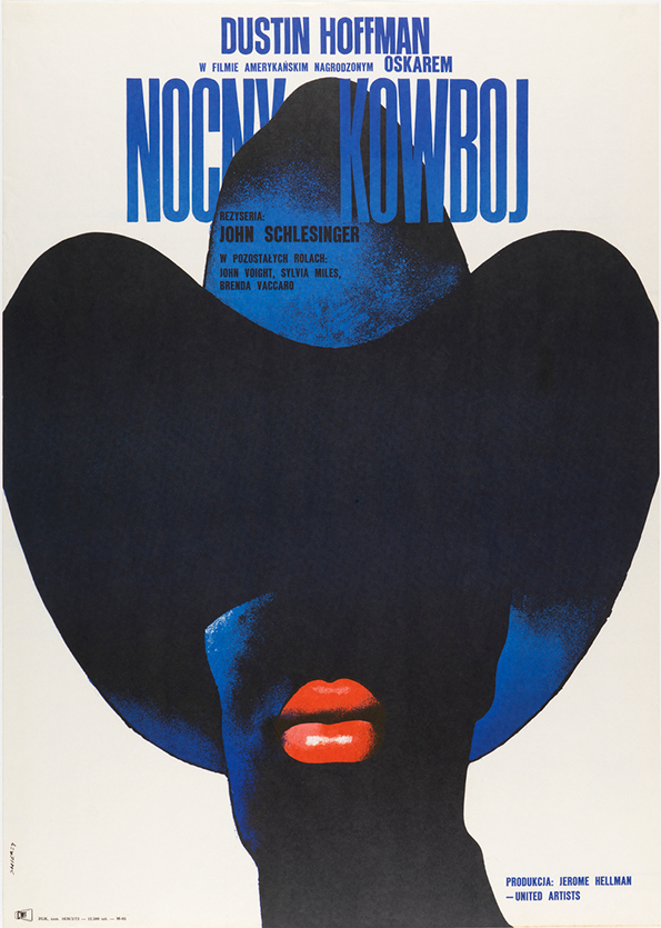 Waldemar Swierzy: Nocny Kowboj/Midnight Cowboy (Photo by Matt Flynn, copyright Cooper Hewitt, Smithsonian Design Museum)