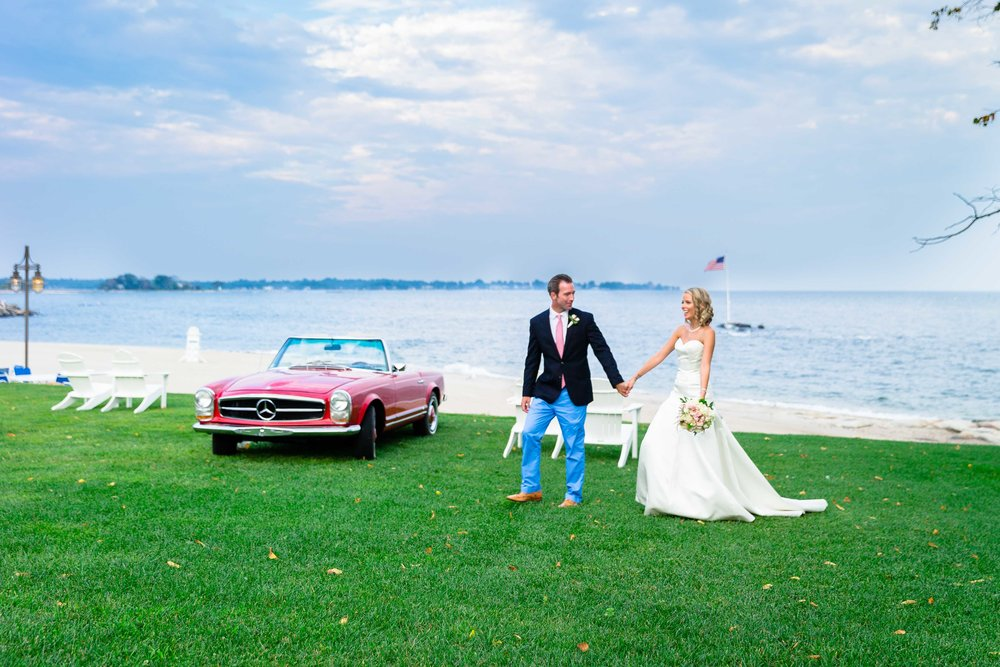 Woodway Beach Country Club Wedding