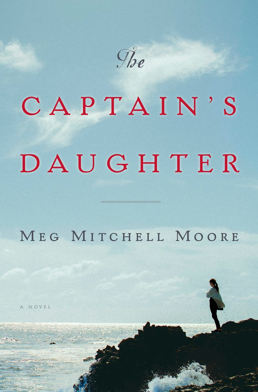 The Captain's Daughter  by Meg Mitchell Moore  Doubleday --- July 18, 2017