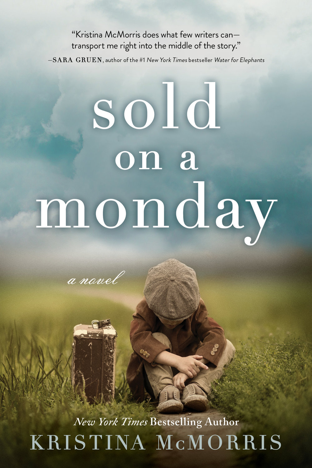 Sold on a Monday  by Kristina McMorris  Sourcebooks --- August 28, 2018