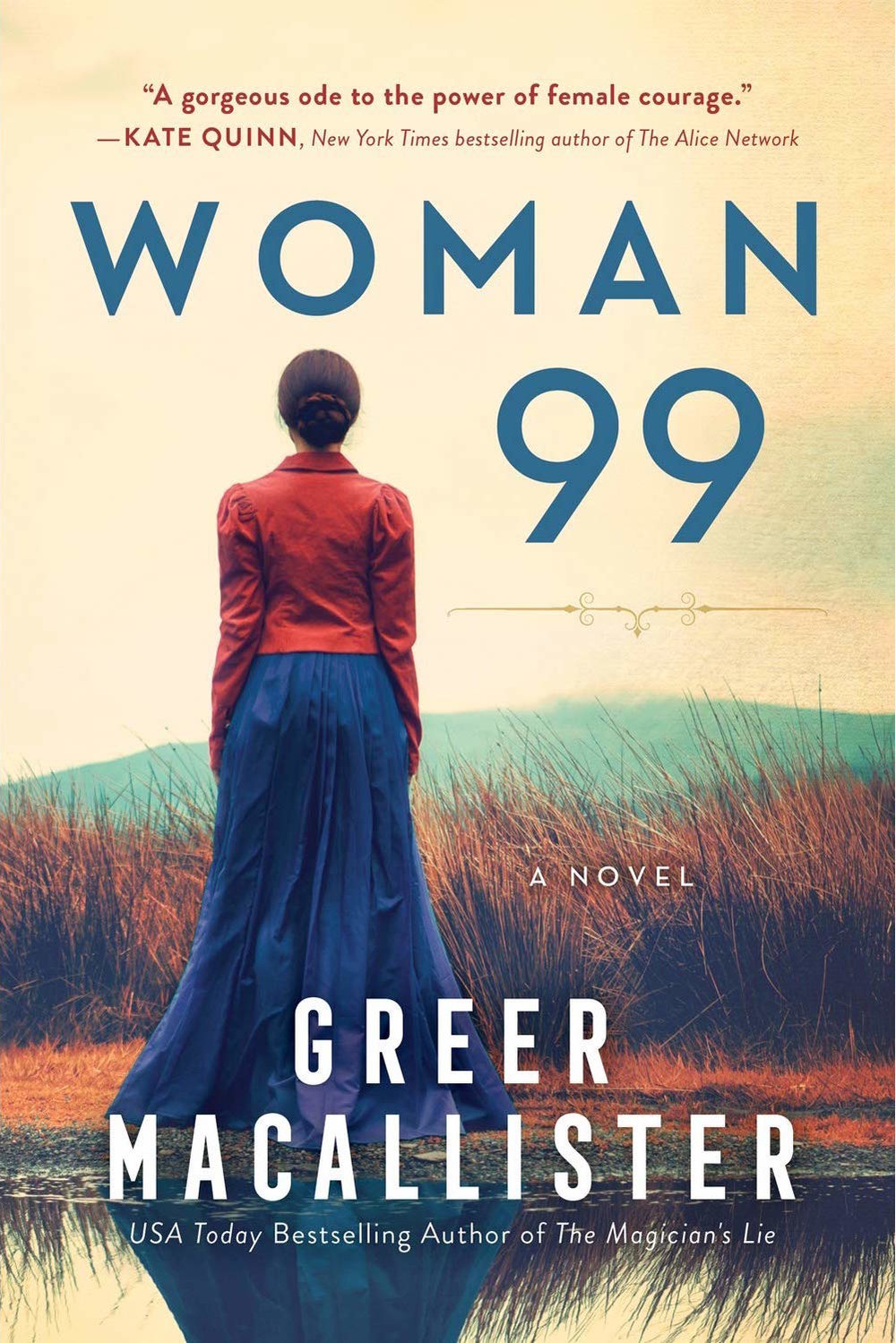 Woman 99  by Greer Macallister  Sourcebooks —- March 5, 2019