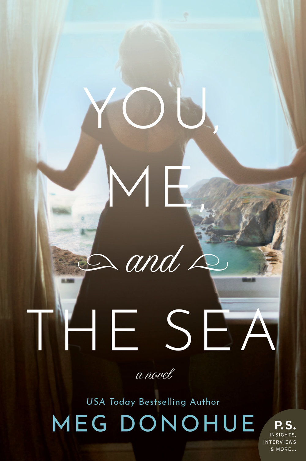 You, Me, and the Sea  by Meg Donohue  William Morrow —- May 7, 2019