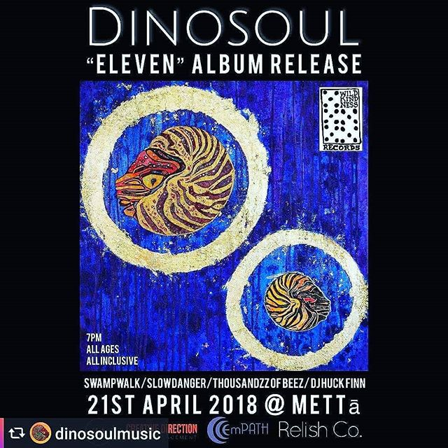 5 days 🐊🎶 @dinosoulmusic #albumrelease @mettapgh #eleven #newmusic #allages #allinclusive #livemusic #artfestival #saturday 4/21 #celebrate #earthday  #tickets https://m.bpt.me/event/3378870