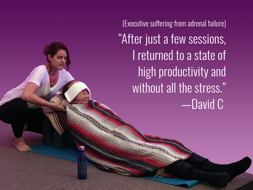 PRivate REstorative yoga - [IN HOME OR STUDIO]Restorative yoga leverages relaxing and non-stretch poses designed to make you feel weightless and take you into a state of rest deeper than sleep.