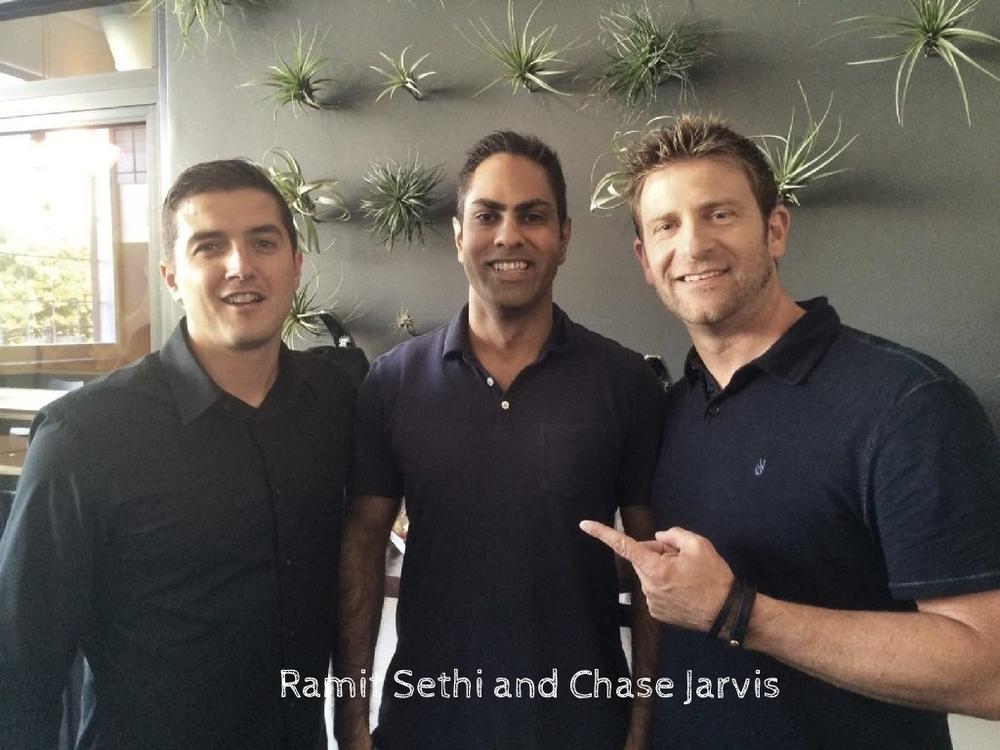 Ramit Sethi and Chase Jarvie