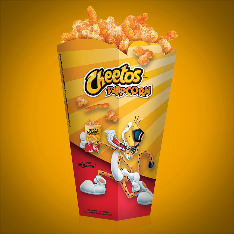 Cheetos Popcorn Packaging
