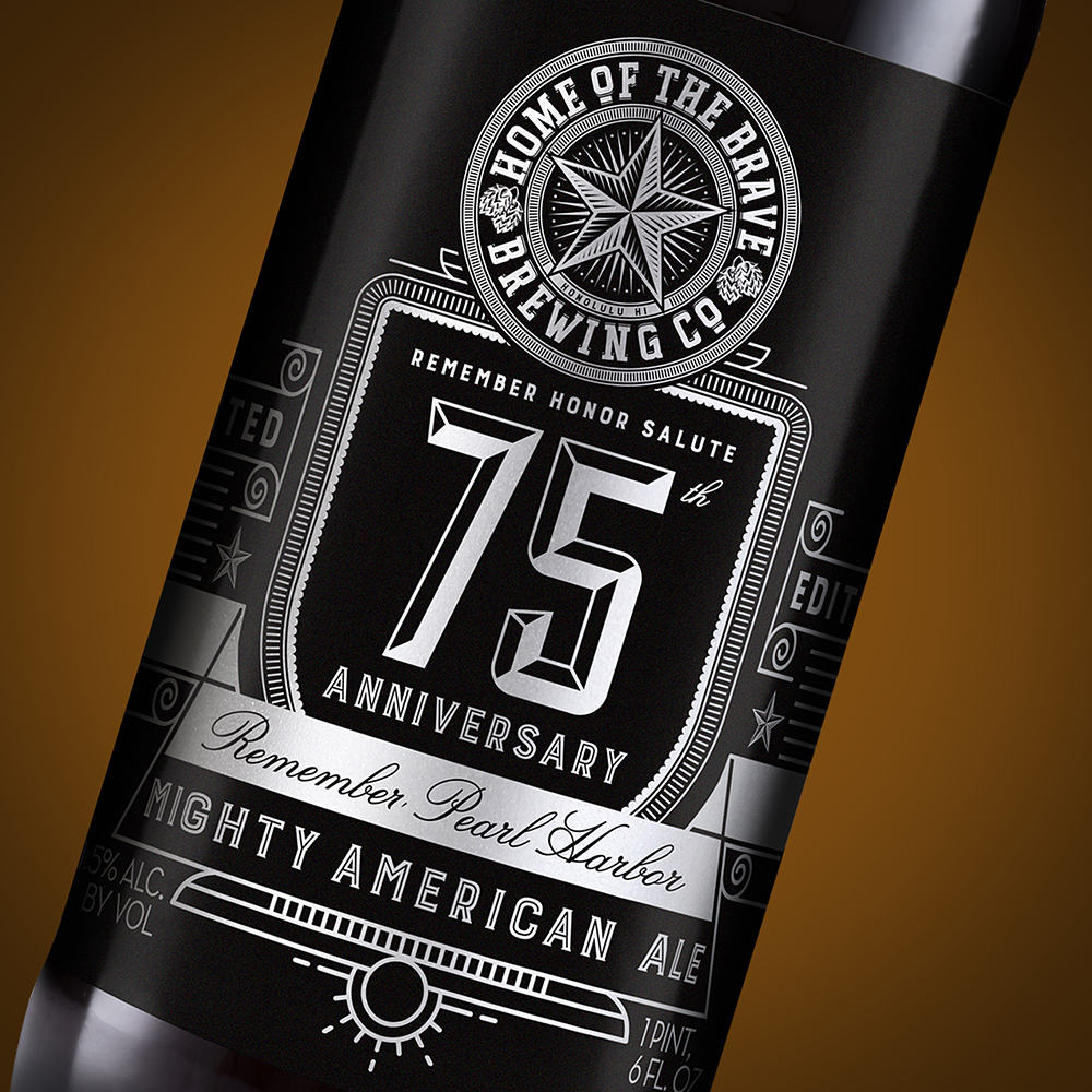 75th Anniversary of Pearl Harbor, Mighty American Ale