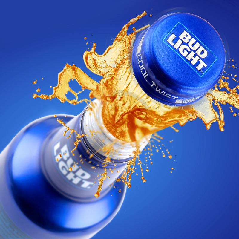 Bud Light Cool Twist Packaging