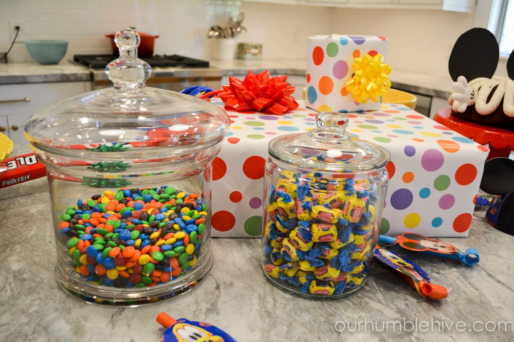 ... and become a key piece in your decor. I fell in love with this polka dot paper I found at Home Goods and knew it was the perfect thing for our party. & Simple and Inexpensive Birthday Party Decor Tips and Tricks \u2014 Our ...