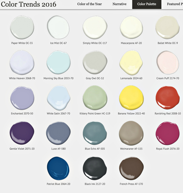Click here to create your own color palette with Benjamin Moore.   Remember to always paint a swatch first