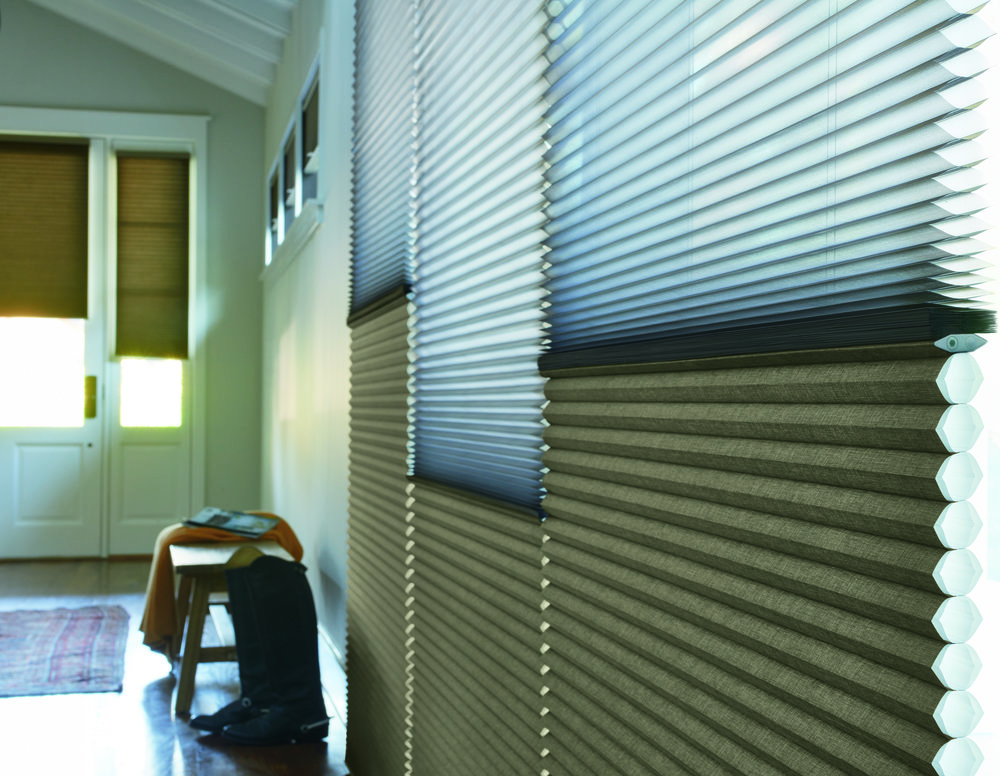 Featured:  Hunter Douglas Duette Duo-lite