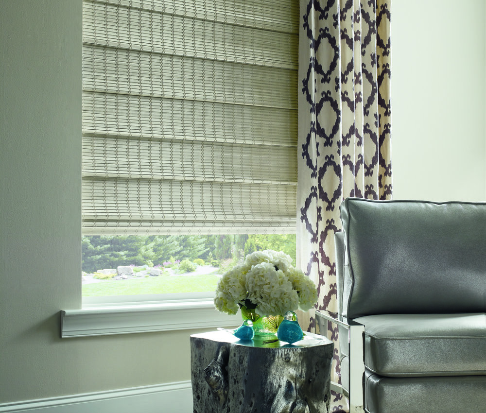Woven Wood Shades as insulators?  Yes!  With quality linings woven wood shades bring an unexpected element of texture and beauty to our energy-efficient window coverings.