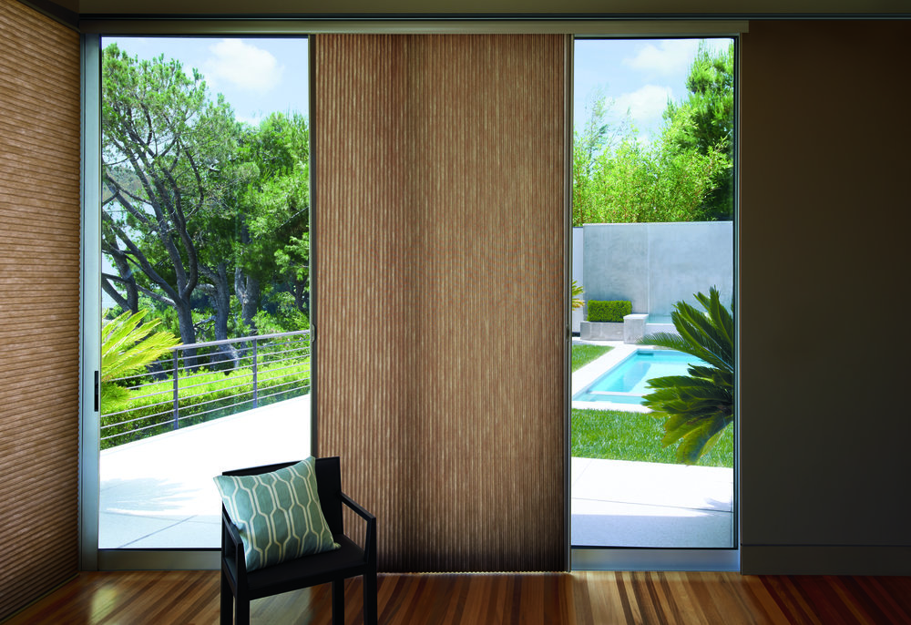 Vertiglide Honeycomb Shades   - 6. Energy-efficient shades that slide across the window