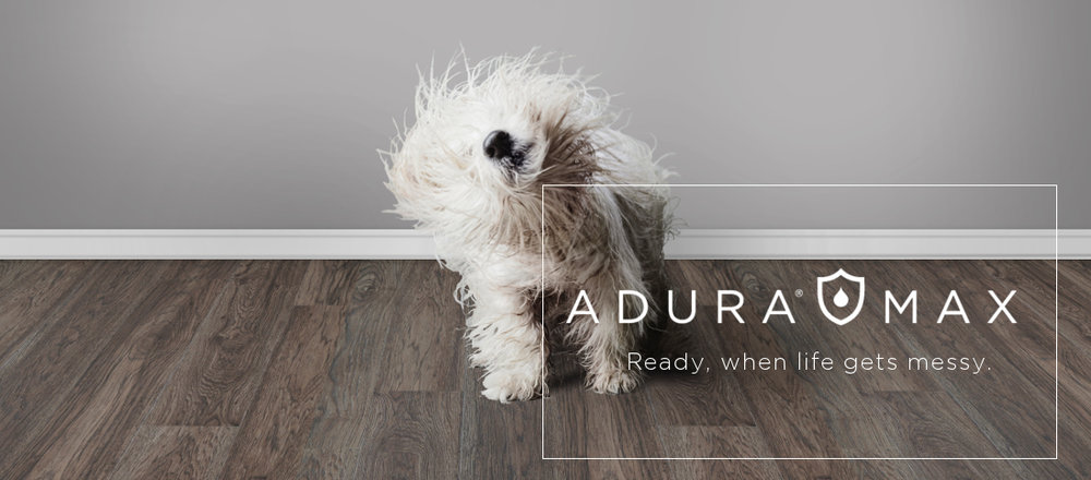 Featuring high-style and worry-free floors with a 100% water-proof core for the busiest households! Mannington's AduraMAX and Adura MaxAPEX are part of our amazing flooring lineup.