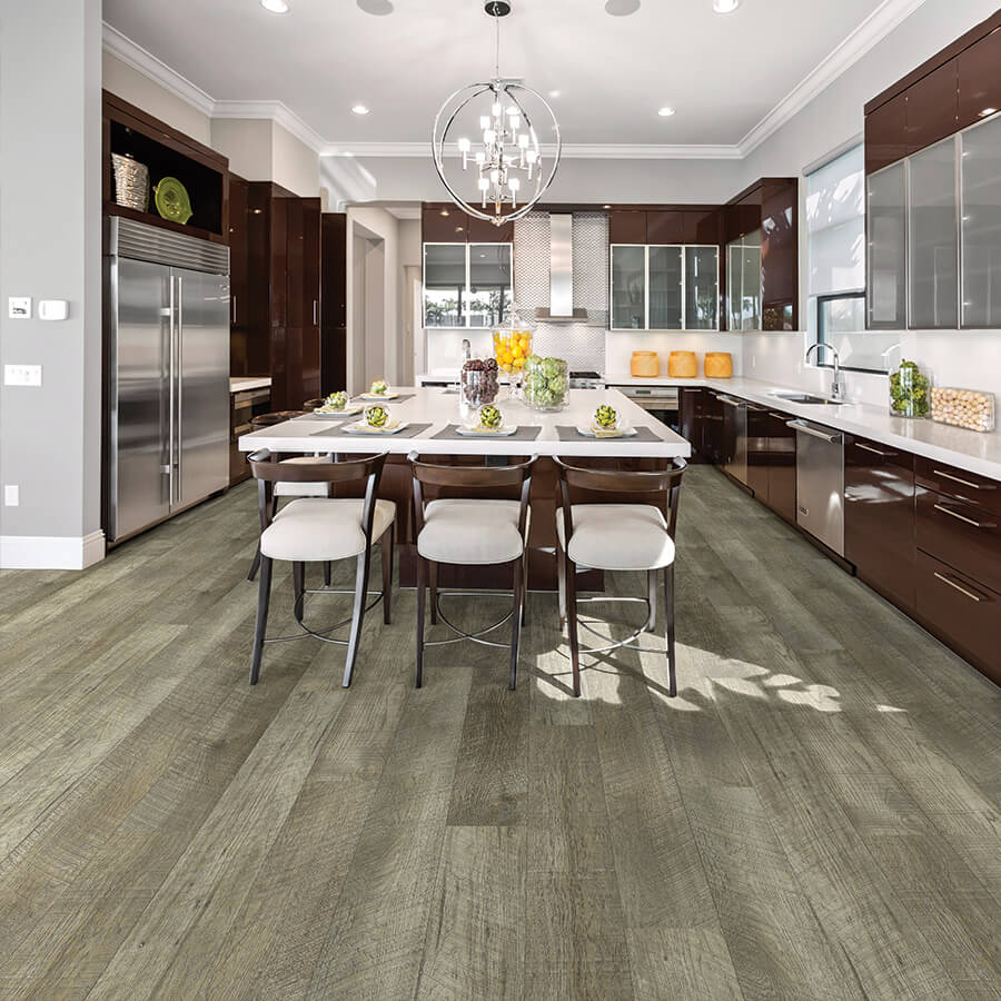 Plank to Plank - New collections - Same finishes! From hardwood floors to waterproof vinyl plank the finishes now coordinate. What this means to you? You can select a waterproof vinyl plank for your baths and kitchens and coordinate the finish color to the hardwood floors for the rest of your home.Coordinate your floors with select styles of Courtier Waterproof flooring and Alta Vista Hardwoods from Hallmark.