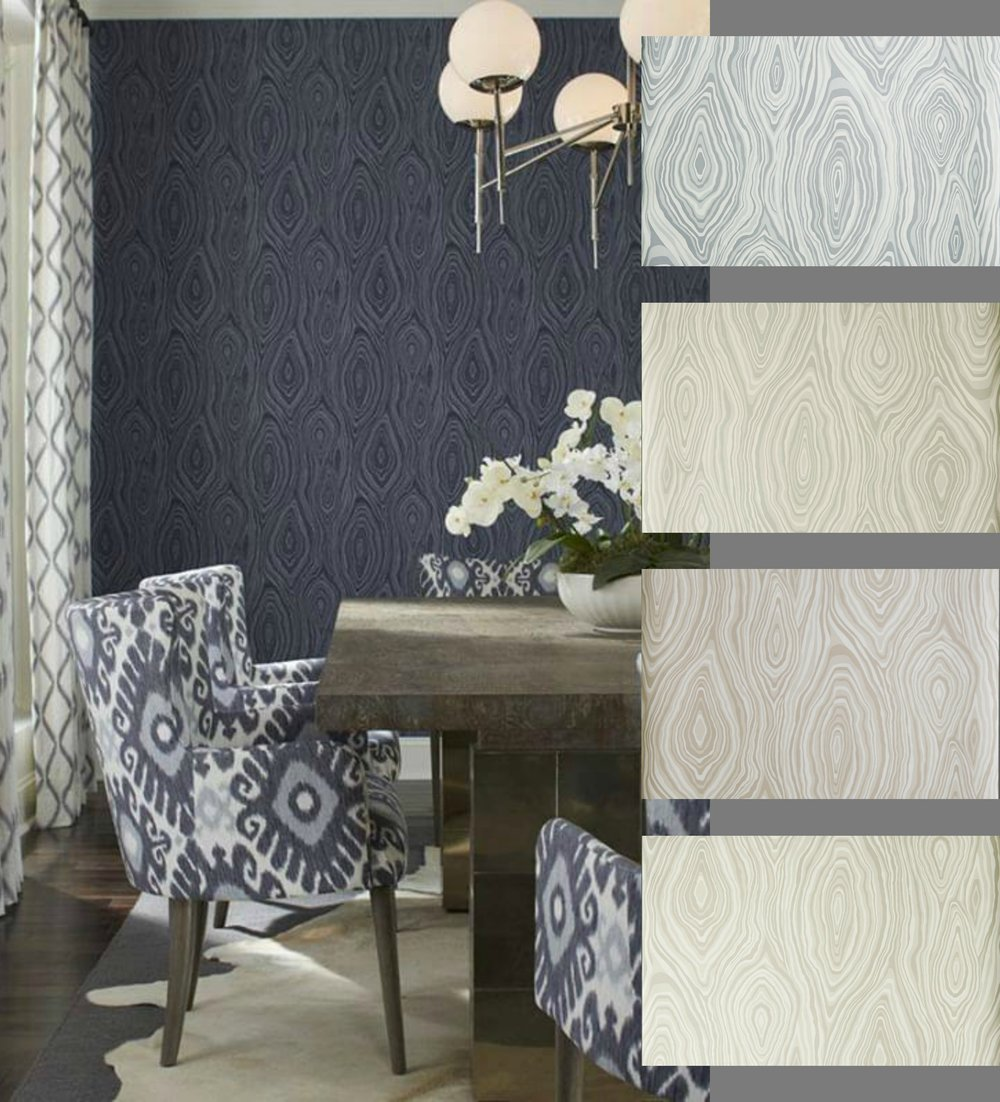 Wall Paper - Save on the latest designs in wallcoverings by Jacklyn Smith and Vern Yip for Fabricut.