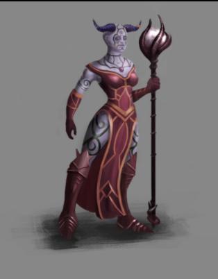 Tribal Warlock - Pendra