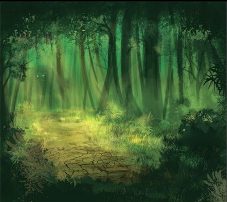 The Dark Forest - Pendra