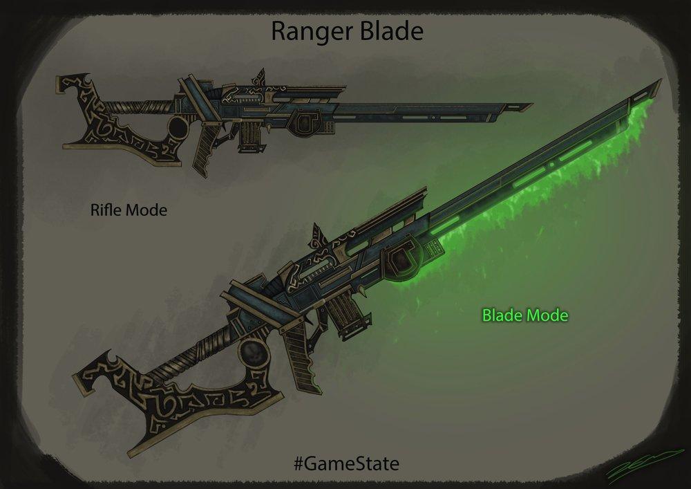 Luke Evans' Ranger Blade