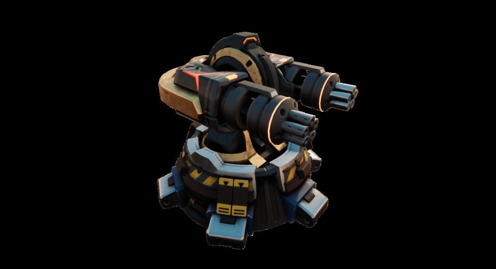 GunTower Game State Skin