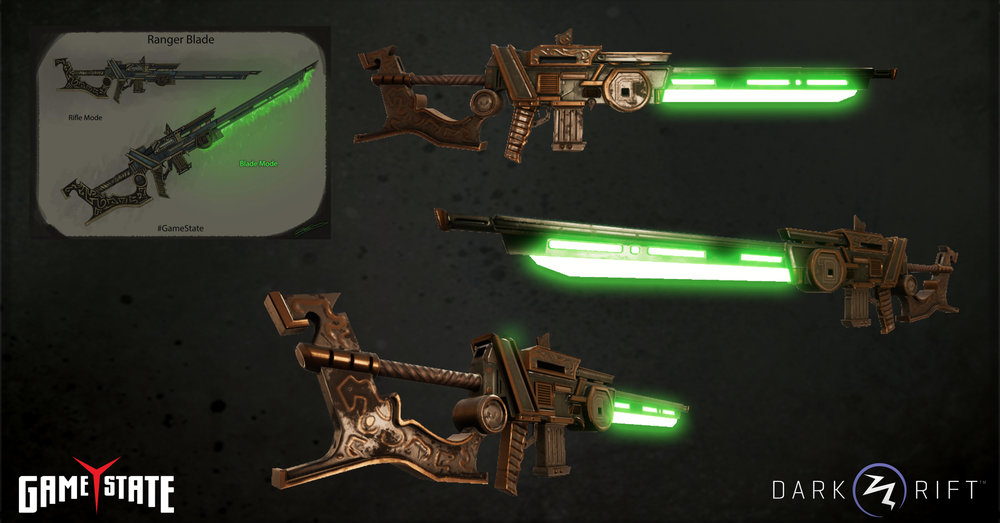 Completed Ranger Blade