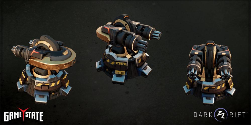 GunTower Game State Skin Full