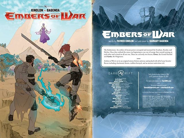 Did someone say Embers of War comic book?  #IndieDev #IndieGame #GameDev #EmbersofWar #Comic #Comicbook #IndieGameDev #cosplay #gameart #videogame #game #Gaming #gamer #videogames #gamedeveloper #indie #developer #artist #art #handdrawn #sketch #wip #darkrift