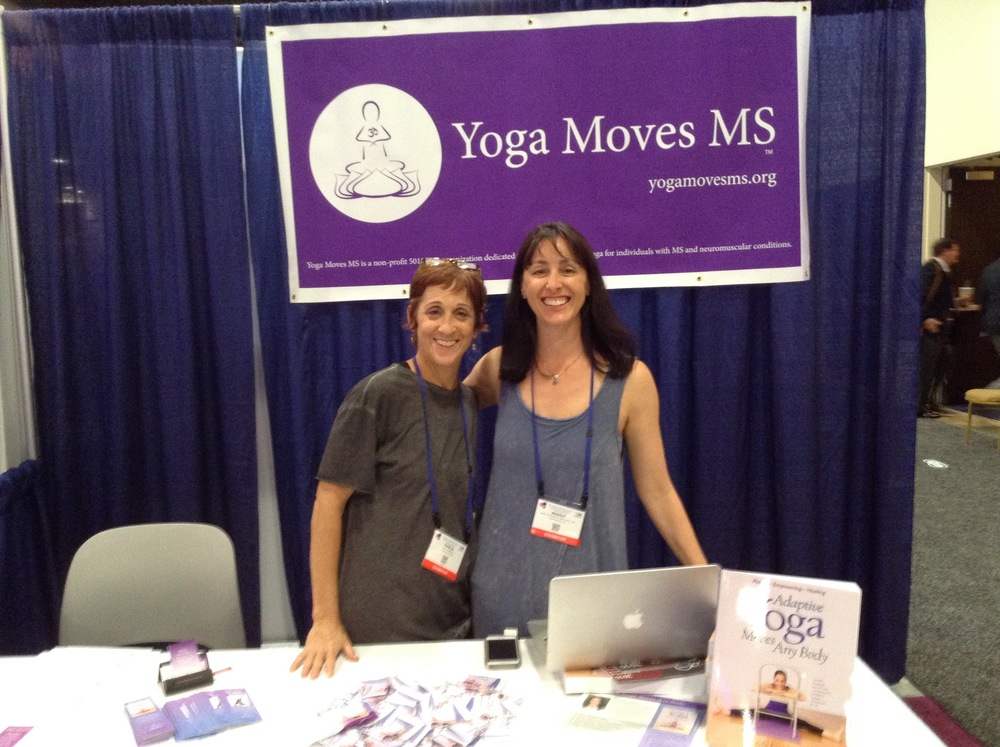 Yoga Moves MS at MS Consortium 2016!
