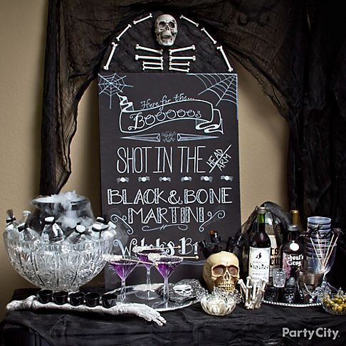 Halloween Party Decor Ideas — The Glitz and Glam Duo