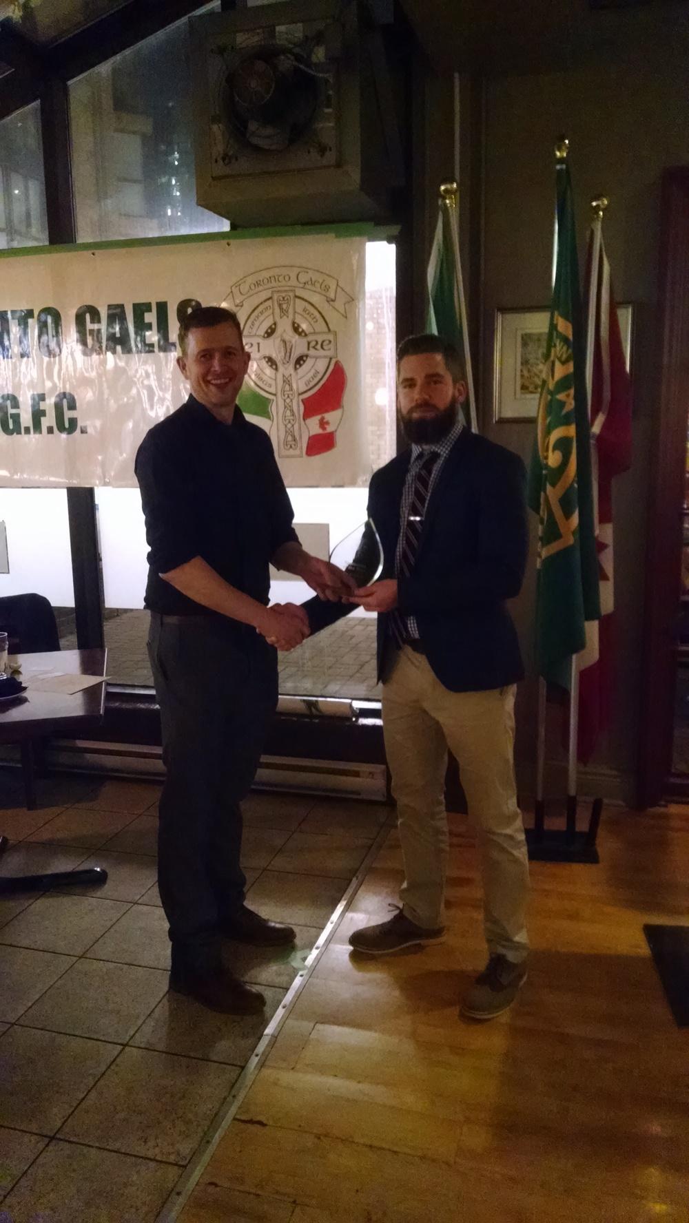 Toronto Gaels Gaelic Football Club - Awards Night 2015 - 4.jpg