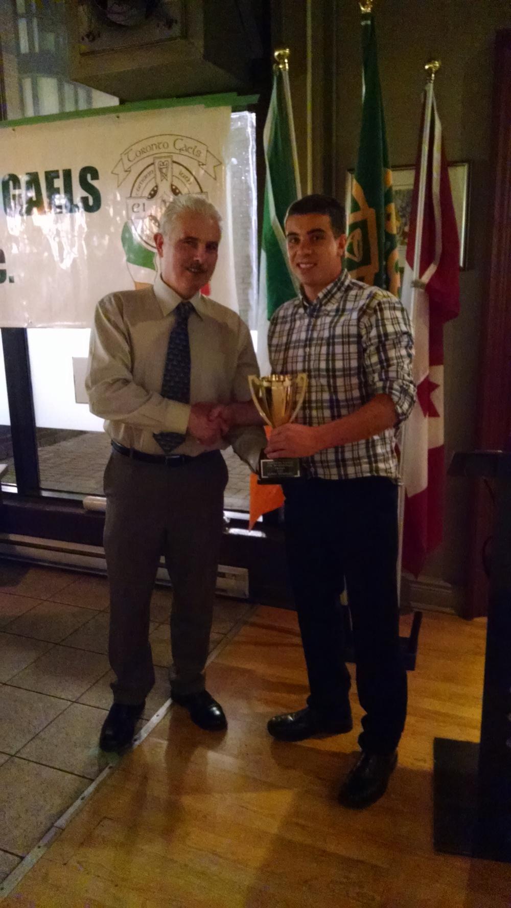 Toronto Gaels Gaelic Football Club - Awards Night 2015 - 6.jpg
