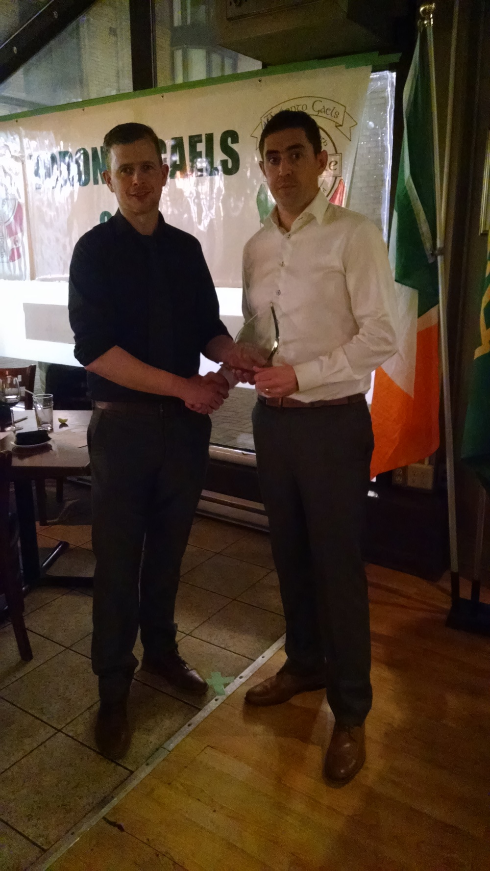 Toronto Gaels Gaelic Football Club - Awards Night 2015 - 7.jpg
