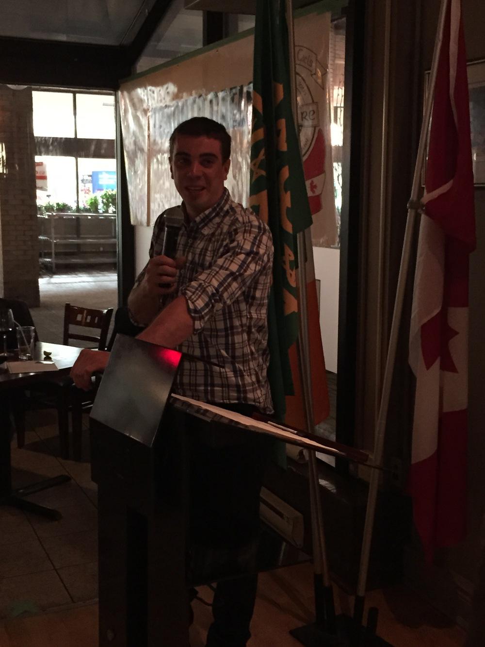 Toronto Gaels Gaelic Football Club - Awards Night 2015 - 16.JPG