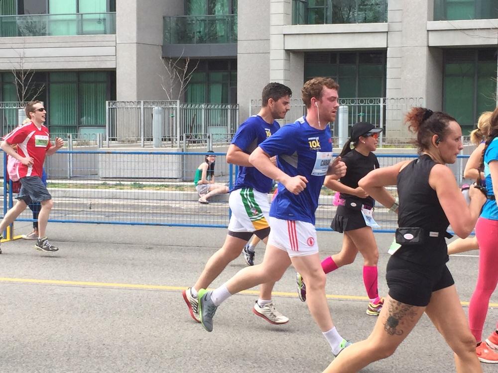 Toronto Gaelic Football Club - Sporting Life 10k, May 10th 2015 - 5.jpg