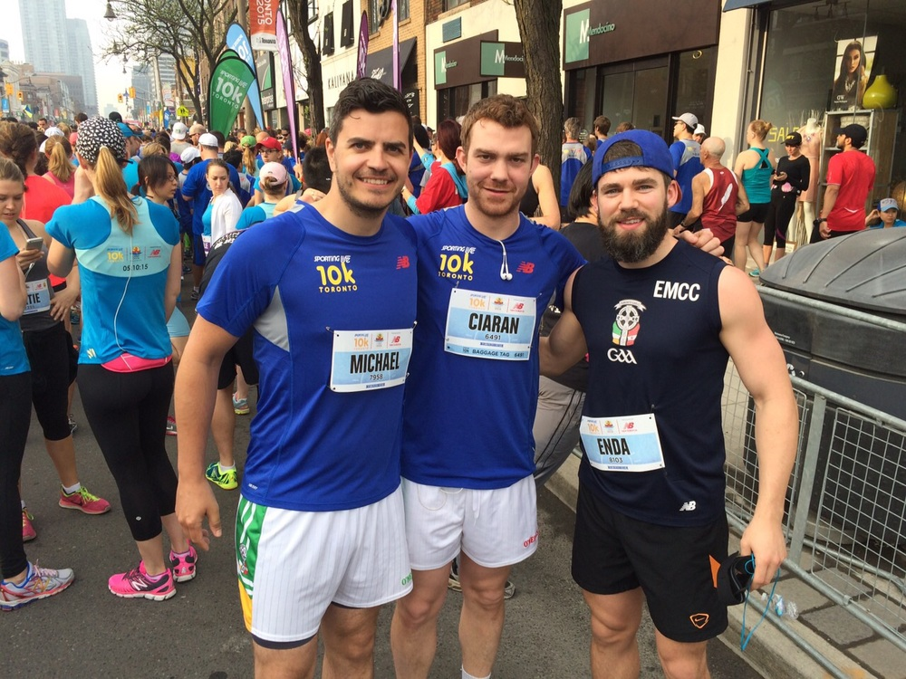 Toronto Gaelic Football Club - Sporting Life 10k, May 10th 2015 - 8.jpg