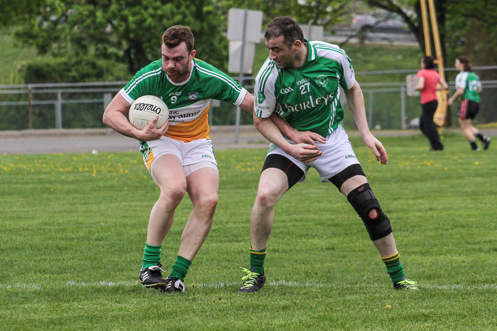 Toronto Gaels Gaelic Football Club - Montreal May Tournament 2015 - ShamrocksvsGaels(11of30).jpg
