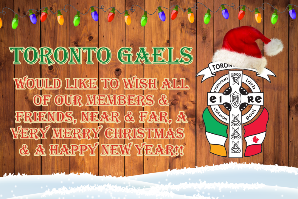 heres to a prosperous year for all in 2018 - Merry Christmas In Gaelic