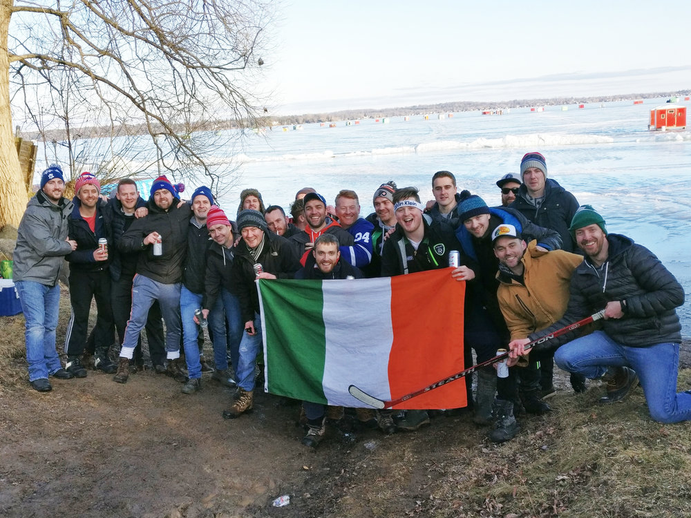Toronto Gaels Ice Fishing Trip 2018