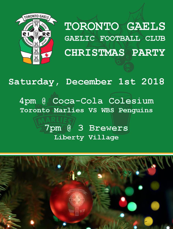 Toronto gaels christmas poster 2018.png
