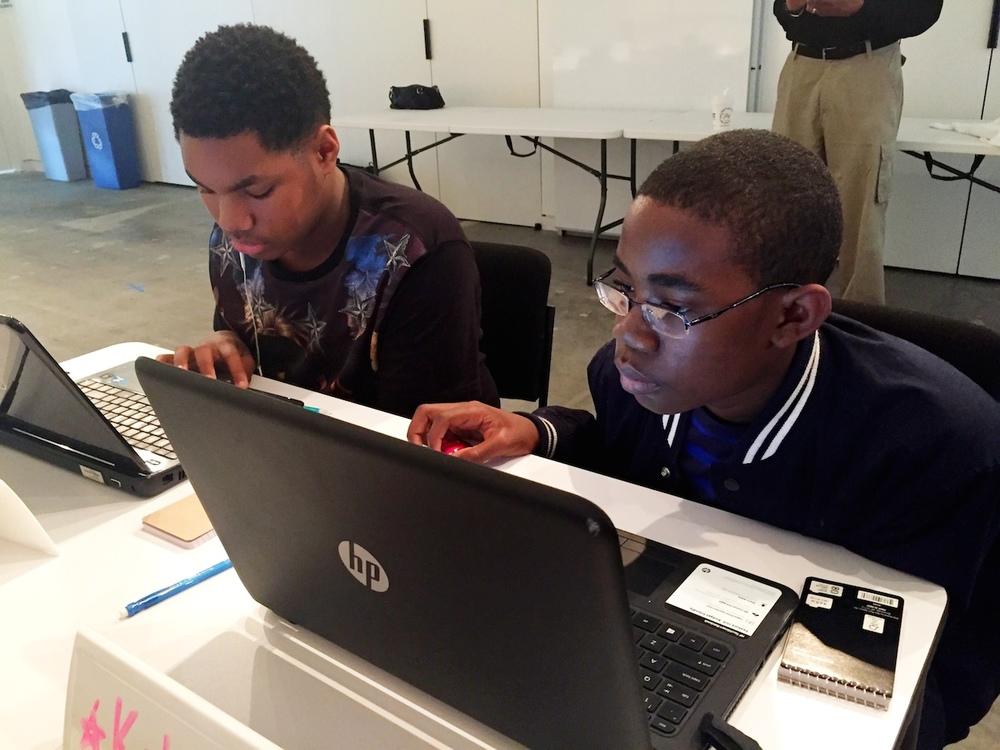 Code Kids Rock Students - 2016 Hackathon