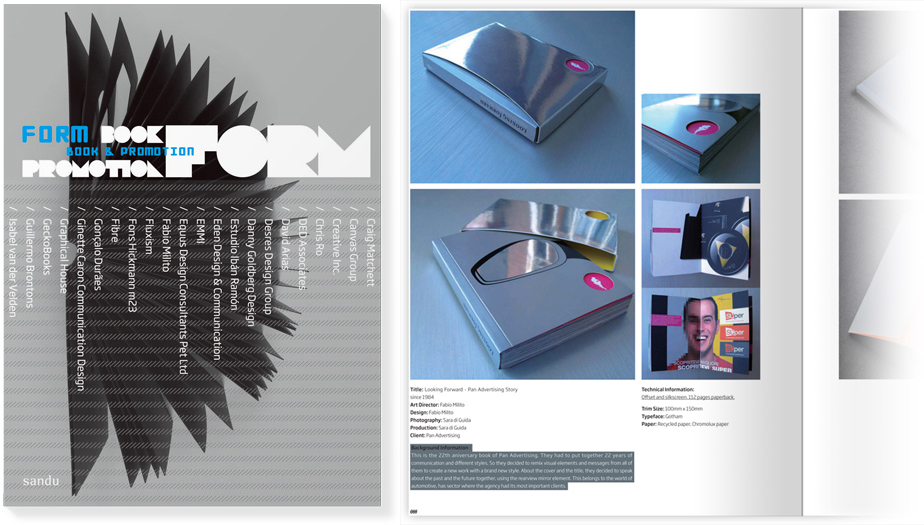 Form, Book & Promotion |Sandu Publishing| China | 2009