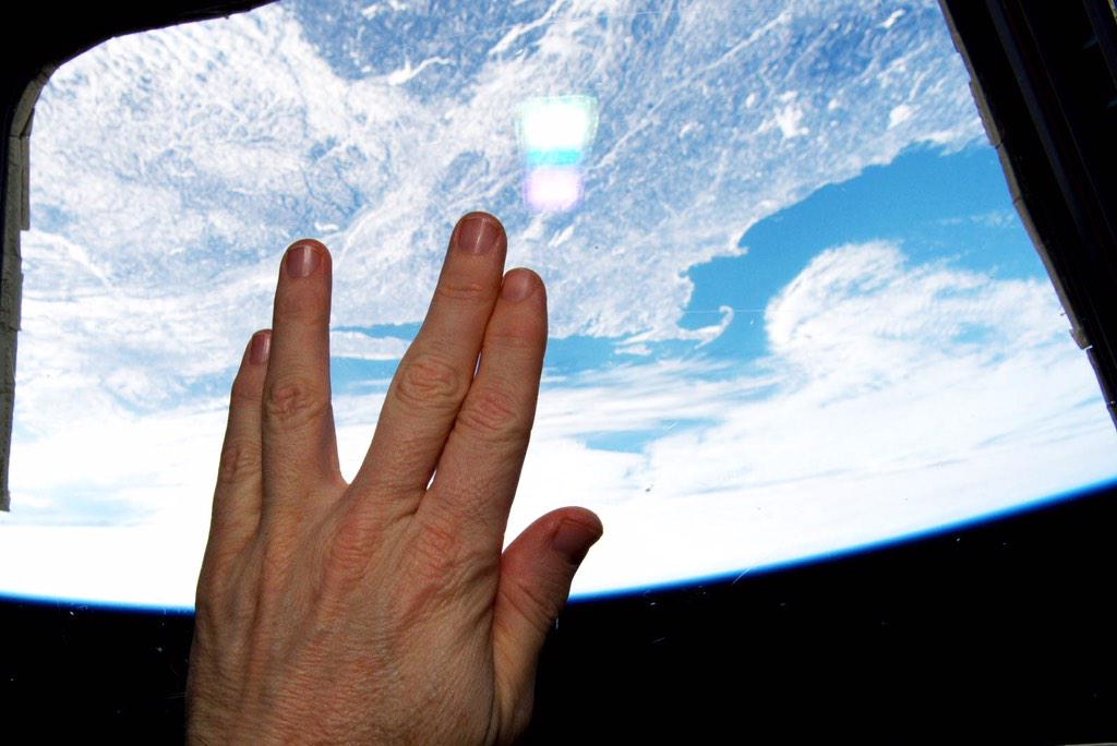 nemoy tribute from space
