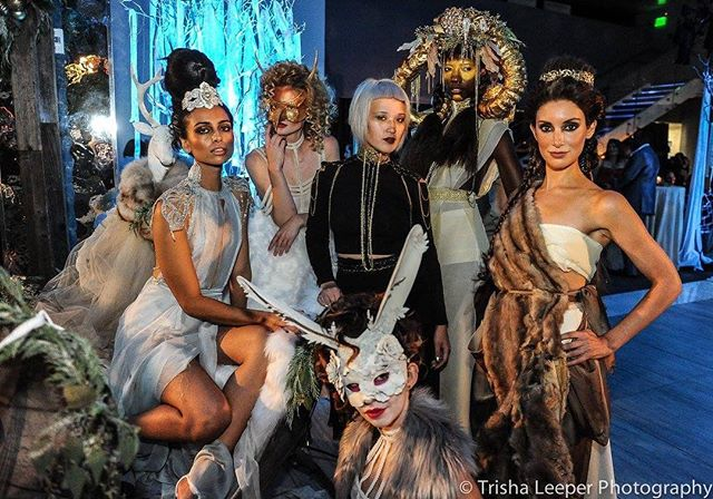 WINTER FANTASY Event by: @asieldesign Game of Thrones Models Models: Leeonnista, Avia Moo and Allysha Leonard, Marina  Head piece: Linnae Asiel & Tulio Flores of @asieldesign Mask: Mattew Molcillo  Hair: Dustin David of @dustindavidsalon Makeup: Maria Chang Designer: @rachel_riot_designs Photo: @trishaleeper