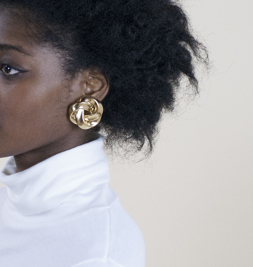 Oversize Vintage Earrings - Wayward Collection