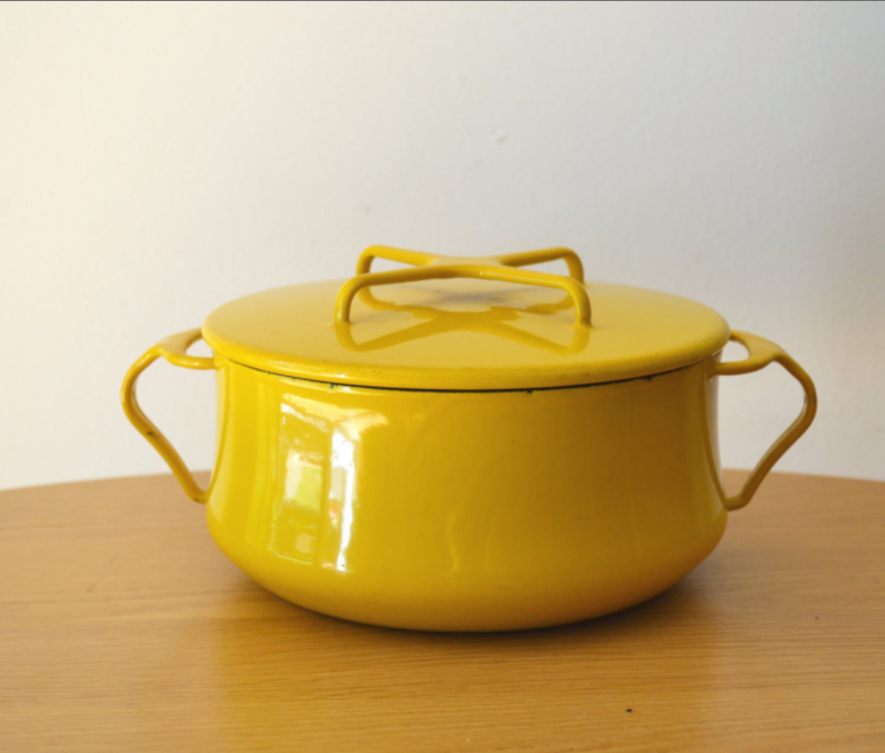 Vintage Dansk Cookware - Interior Components