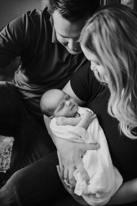 Newborn lifestlye sessions sacramento